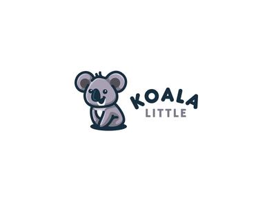 Koala Little  bear creatank kreatank mascot character brand indentity creative logo cute little koala