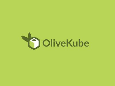 Olive kube bodea daniel creatank kreatank vector creative brand indentity logo design olive square cube