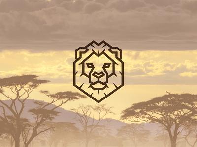 Lion Head kreatank animal illustration brand identity king creative head logo shield lion