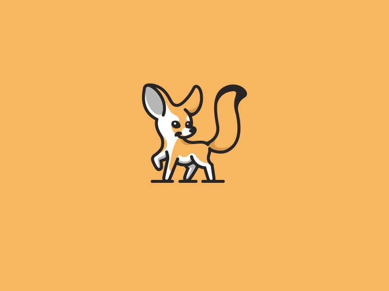 fennec fox by daniel bodea dribbble