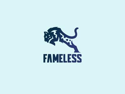 Fameless Snow leopard logo