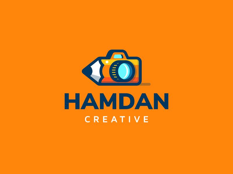 Hamdan Creative video photography kreatank designer graphic design illustration logo creative agency photo camera pencil
