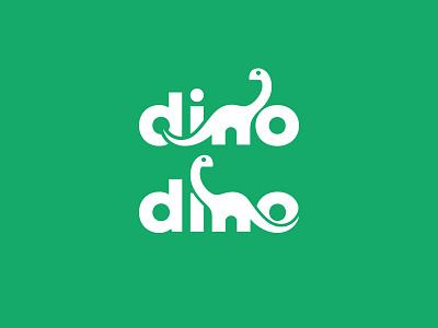 Dino kreatank type cute dinosaurus creative logo dinosaur dino