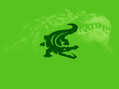 Crocodile / Alligator kreatank illustration reptile croc logo aggressive alligator crocodile