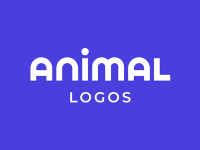 Animal Logos on Behance kreatank creative fun cute animals brand identity typography font custom type behance project animal logos