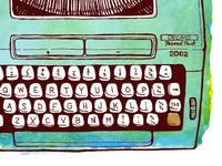 Typewriter detail 2