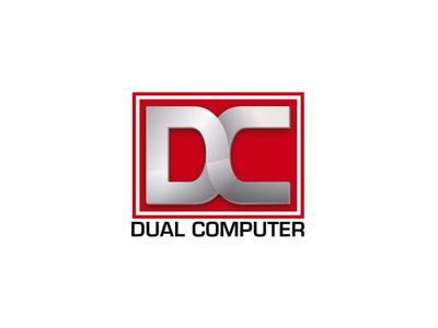 Dual Computer app vector branding