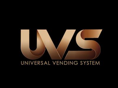 UVS icon illustration animation typography vector branding