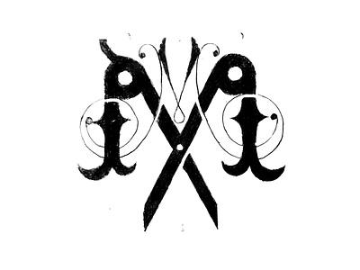 Double M letters, barbershop logo sketching drawing letter mlogo logo lettermark barbershop logo barber