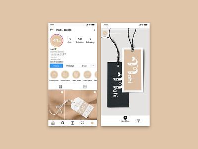 Mahi Social Media Design highlight instagram socialmedia fishlogo fish pisceslogo pisces animals graphic branding design mlogo animal logo