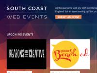 South Coast Web Events v.2