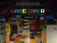 Game Over: Video Game Cafe