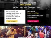 Portsmouth Freelancers Meet Design Refresh