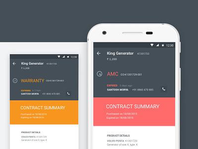 Service Provider Mobile App Platform technician service provider b2b2c mobile app ux design