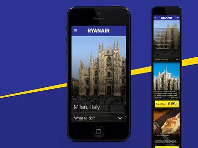 Ryanair graphic design photoshop ryanair