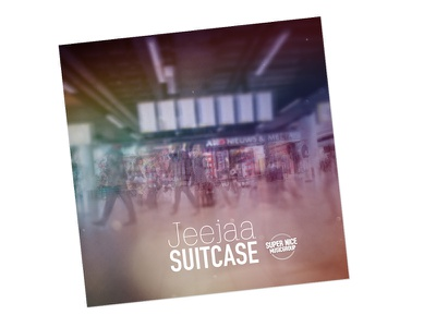 Jeejaa - Suitcase,  cinemagraph EP cover cinemagraph cinema design graphic cover cd