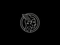 Hermes - Mercury / Line Art