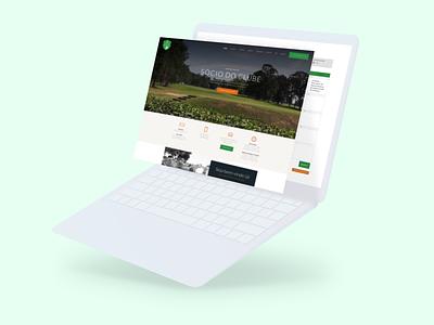 Clube de Golfe de Campinas website design desenvolvimento uxdesign user experience designer design art wordpress design site design wordpress webdesign site web design website web