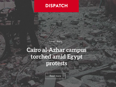 Rethinking NEWS - Dispatch news ux design graphic design content user interface ui dispatch