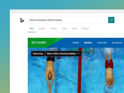 Bing Rio Games Experience