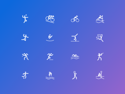 Sport Icons Bing Rio Games Experience