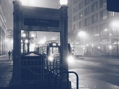 Chicago Noir ethereal blackandwhite photography chicago