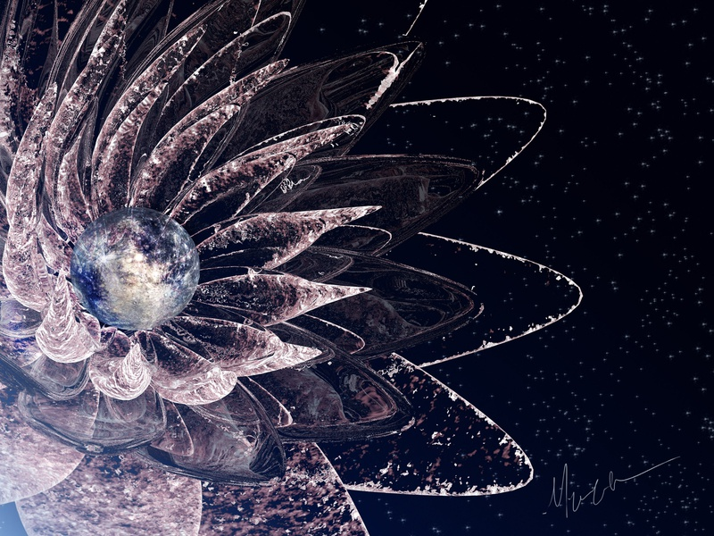 The Beginning of Space and Time cinematic chicago3d 3dartist 3dart motion design photoshop art c4dart digitalart 3d ethereal