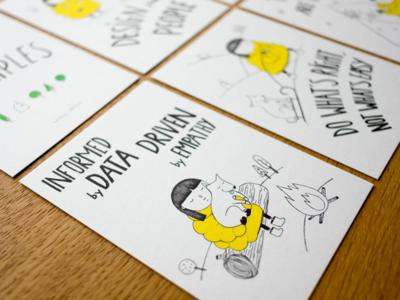 Booking.com Design Principles - Holiday Cards