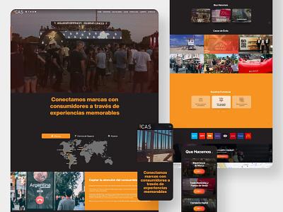 Website - Contenidos Advertising S.A. sitio web wordpress design wordpress theme wordpress website design uidesign website branding web design ui design