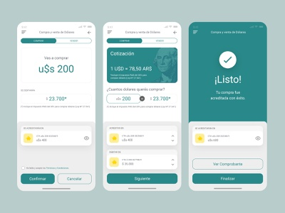UIUX Inspiration N. 23 - Money and Bank App bank uxdesign uxui green buy money euros dollars bank app finance app finances banking ui design