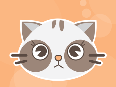 Cat Illustration-1 illustration vector cat design