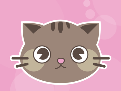 Cat Illustration-2 vector cat illustration design