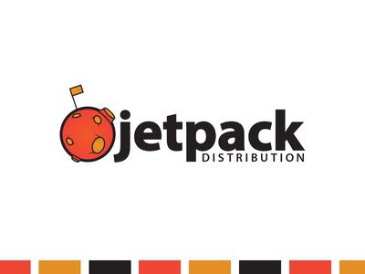 Jetpack Distribution typeface modern clean illustrator space