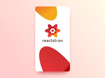 Reactotron Rebrand color gradient development js react native app design app ux ui identity logo brand
