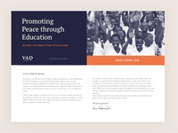 The VAD Foundation Mailer 2016