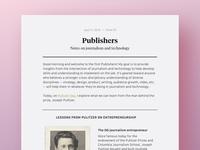 Publishers Desktop