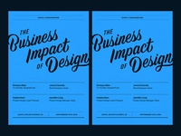 The Business Impact of Design posters