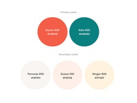 Gusto.com color palette