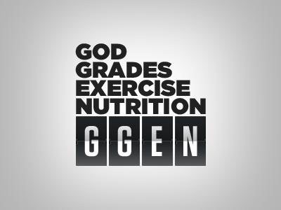 GGEN Logo logo gotham tungsten flippers