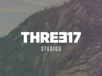 THREE17 Logo version 2 logo tungsten gotham narrow