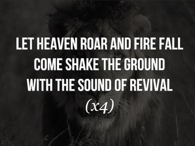 Like A Lion easyworship background lion lyrics worship