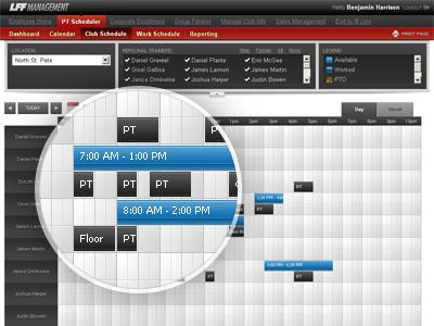 Timeline ui web app timeline