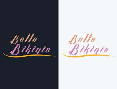 Belle binkinis photoediting graphic design business design logo illustration