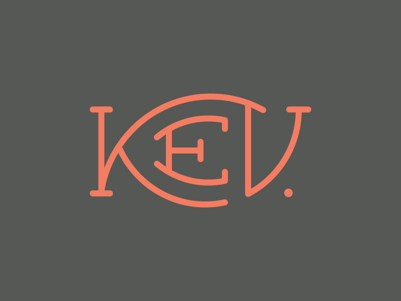 Kev logo  Kev logo 3 by Tyler Anthony - Dribbble