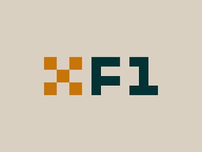 XBOX Formula 1 Racing League branding logo design vector x checkered flag race car car vintage racing formula one formula 1 formula1 xbox
