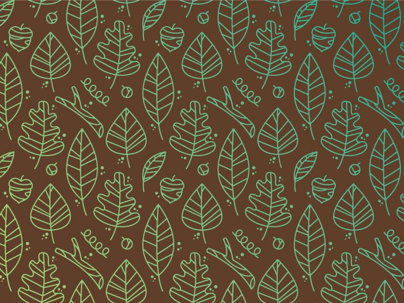 Fall Pattern leaf pattern twig fall