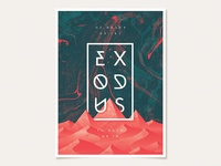 Early Exodus Sermon Series Poster