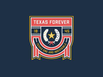 TEXAS FOREVER!!! fifa nhl 1845 banner star blue white red texas