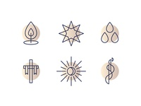 Church Calendar Icons