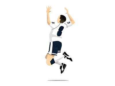 Tottenham Hotspur North London Derby Programme Cover gazza art texture illustration ball soccer football arsenal spurs hotspur tottenham